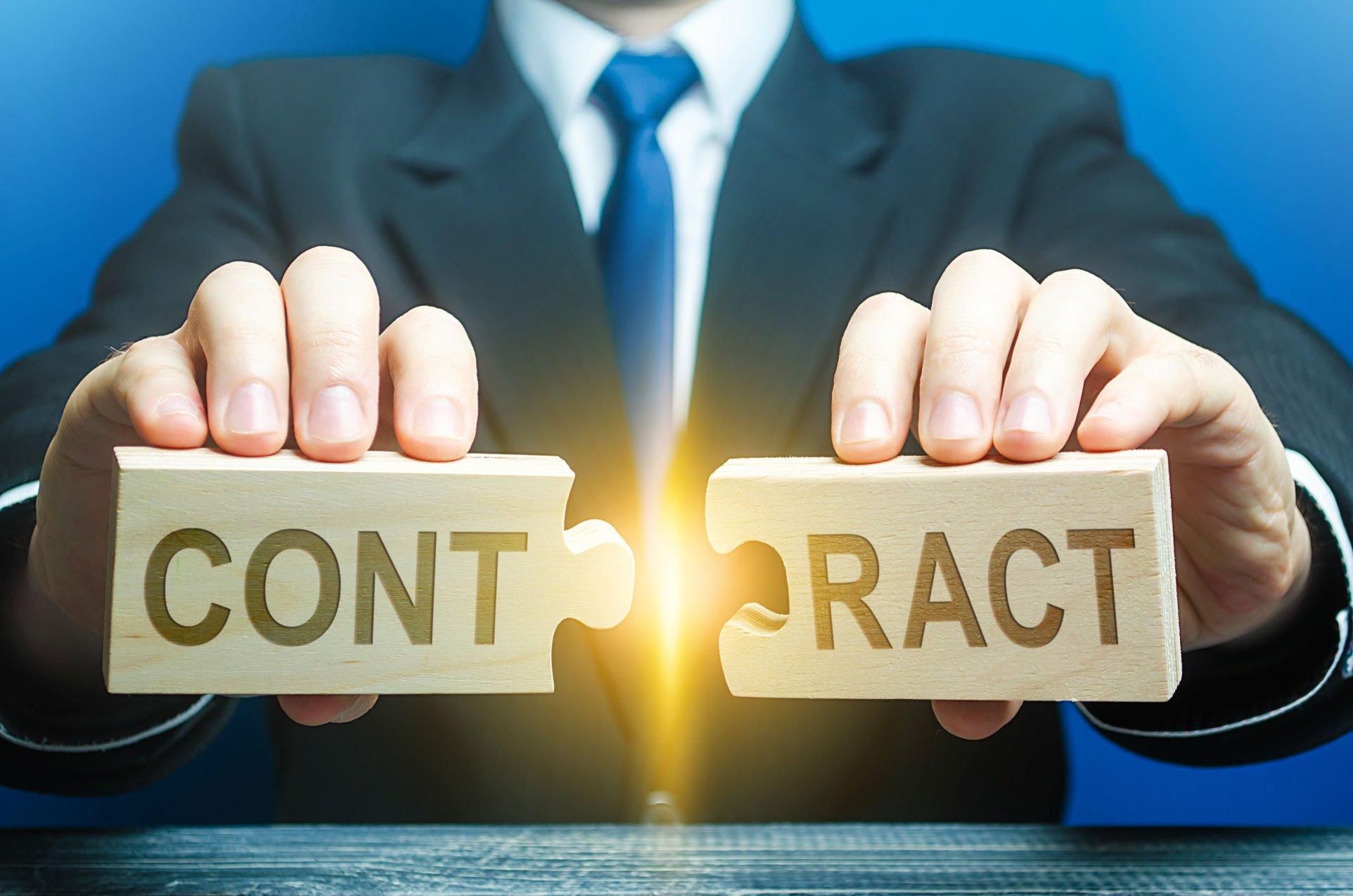 Contract Terminations and Amendments